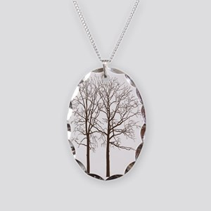 Brown Trees Necklace