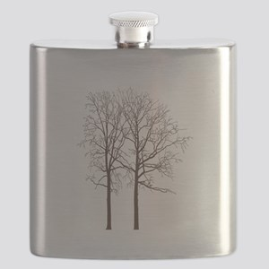 Brown Trees Flask