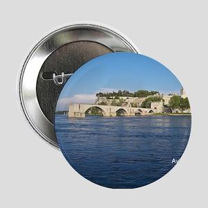 """Avignon and Pont Saint-Bénezet 2.25"""" Button"""