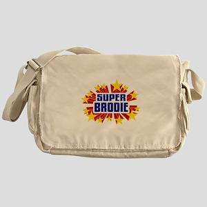 Brodie the Super Hero Messenger Bag