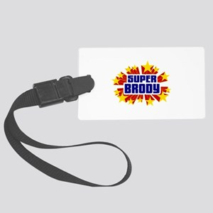 Brody the Super Hero Luggage Tag