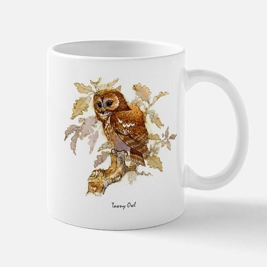 Tawny Owl Peter Bere Design Mug
