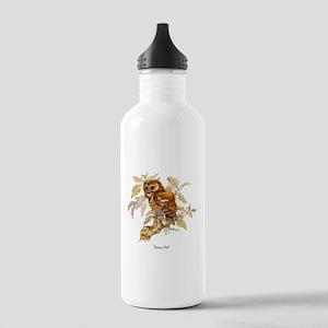 Tawny Owl Peter Bere Design Water Bottle