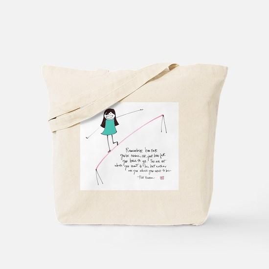 Its a Balancing Act Tote Bag