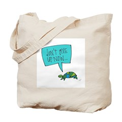 Turtle of Perseverance Tote Bag
