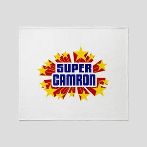 Camron the Super Hero Throw Blanket