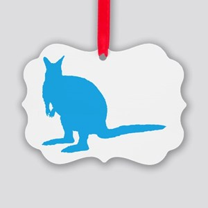 Blue Wallaby. Ornament