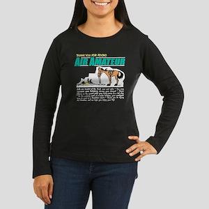 Air Amateur Women's Long Sleeve Dark T-Shirt
