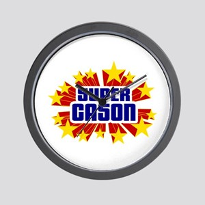 Cason the Super Hero Wall Clock