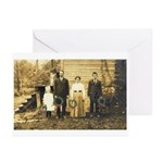 Old Family Christmas Greeting Cards (Pk of 10)
