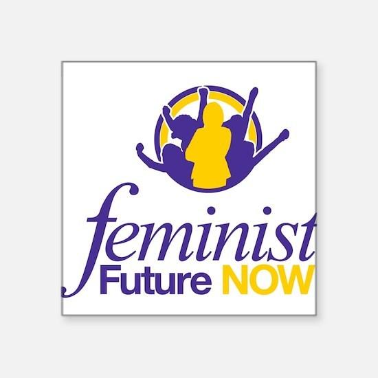 Feminist Future NOW Logo Sticker