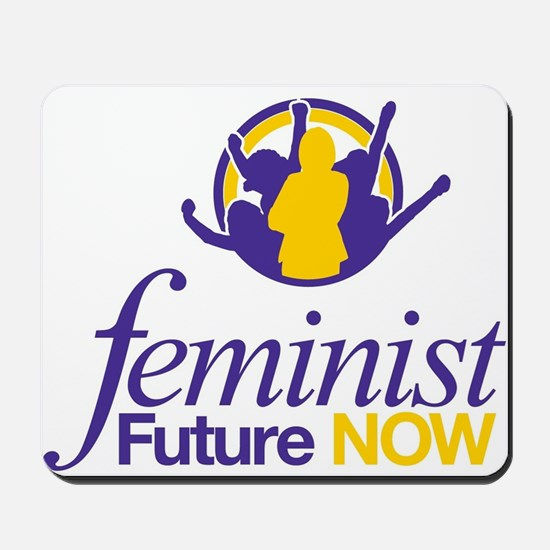 Feminist Future NOW Logo Mousepad