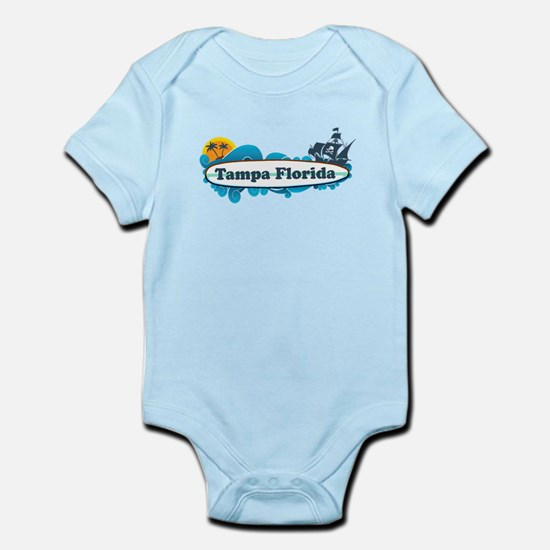Tampa Florida - Surf Design. Infant Bodysuit