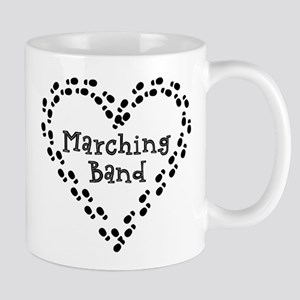 Marching Band Footprints Mugs