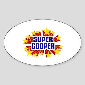 Cooper the Super Hero Sticker