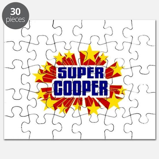 Cooper the Super Hero Puzzle