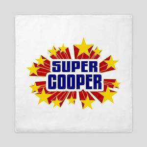 Cooper the Super Hero Queen Duvet