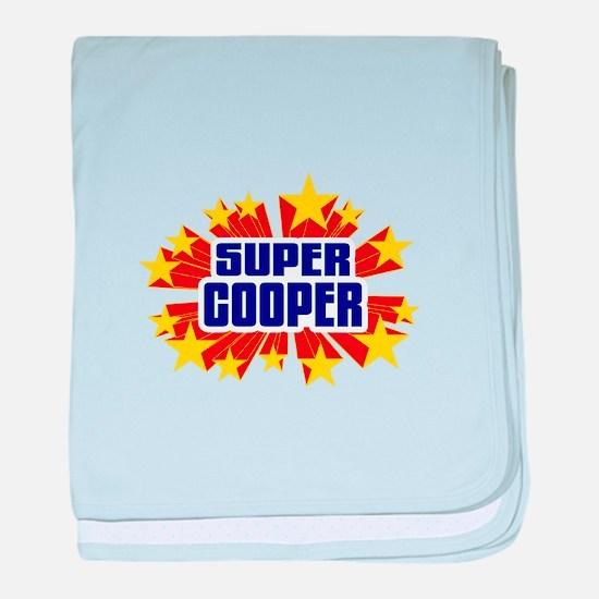 Cooper the Super Hero baby blanket