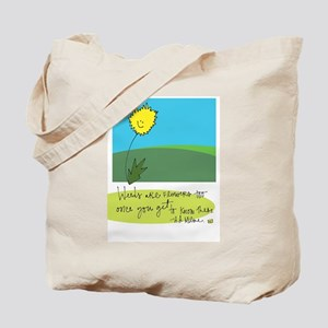 Beauty Where You Least Expect It Tote Bag