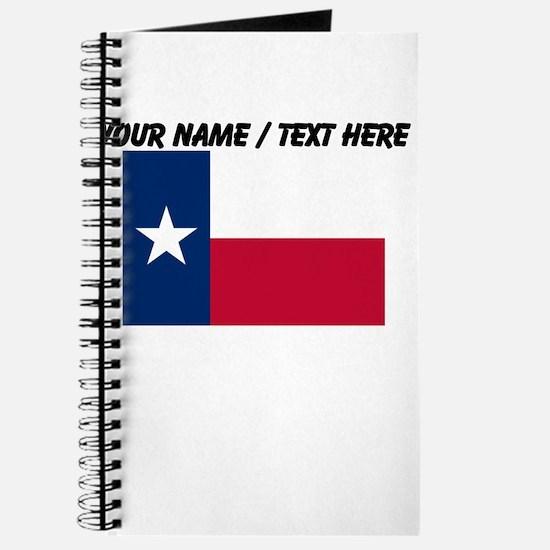 Custom Texas State Flag Journal