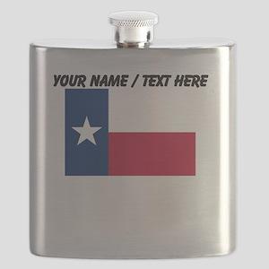 Custom Texas State Flag Flask
