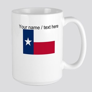 Custom Texas State Flag Mug