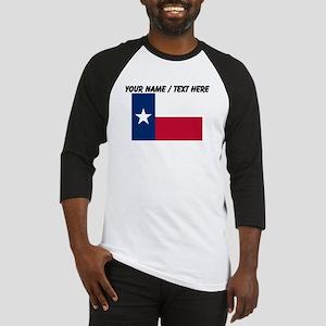 Custom Texas State Flag Baseball Jersey