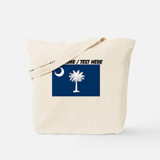 Custom South Carolina State Flag Tote Bag