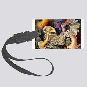 sea anemones-horiz1 Luggage Tag