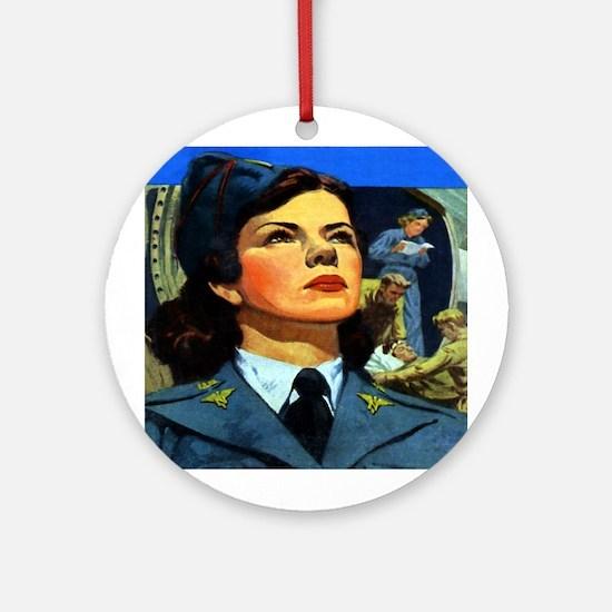 Flight Nurse Keepsake (Round)