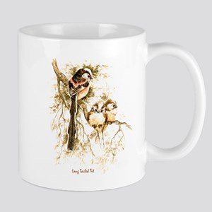 """Birds and Young """"Long tailed Tits"""" Peter Bere Mug"""