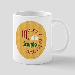 Scorpio Christmas Mug