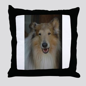 """""""Who Is Lassie? Do I Look Like Her""""? Throw Pillow"""
