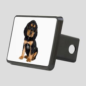 Rottweiler Pup Rectangular Hitch Cover