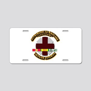 Army DUI - 44th Medical Bde w SVC Ribbons Aluminum