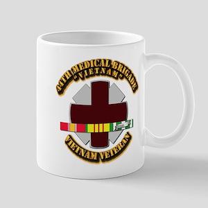 Army DUI - 44th Medical Bde w SVC Ribbons Mug
