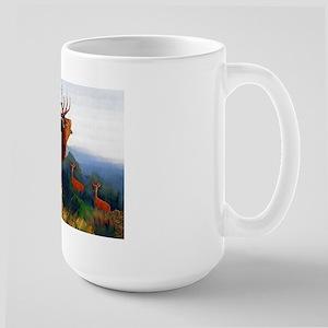 Bugling Elk Large Mug