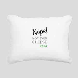 Vegan Rectangular Canvas Pillow