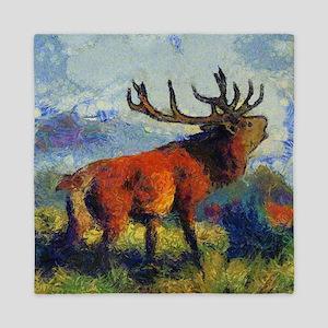 Surreal Elk Queen Duvet