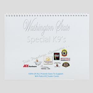 WA Special K9 Wall Calendar