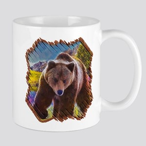 Grizzly Bear Territory Mug Mugs