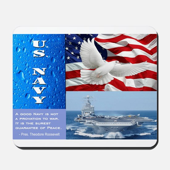 U.S. Navy Mousepad