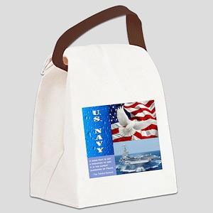 U.S. Navy Canvas Lunch Bag