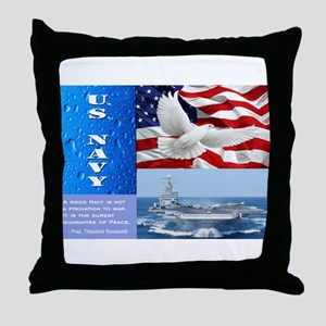 U.S. Navy Throw Pillow