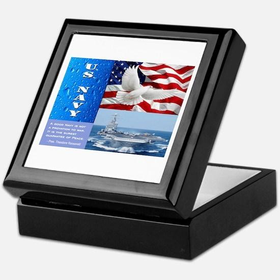 U.S. Navy Keepsake Box