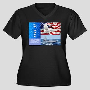 U.S. Navy Plus Size T-Shirt