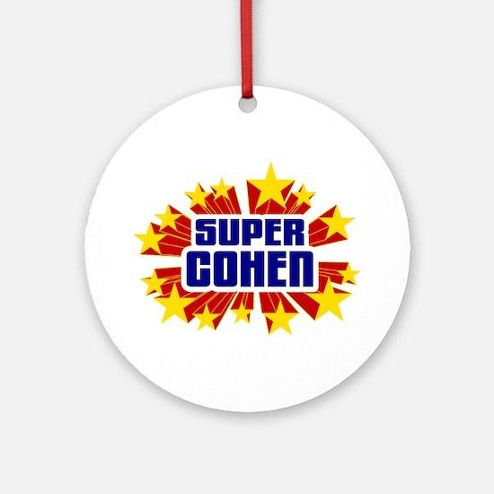 Cohen the Super Hero Ornament (Round)