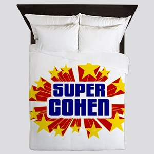 Cohen the Super Hero Queen Duvet
