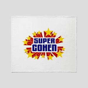 Cohen the Super Hero Throw Blanket