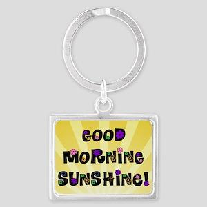 Good Morning Sunshine Keychains